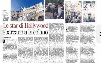 Le star di Hollywood sbarcano a Ercolano